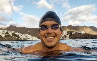 Läs om Jonas nästa äventyr – när han kommer simma runt Gotland.